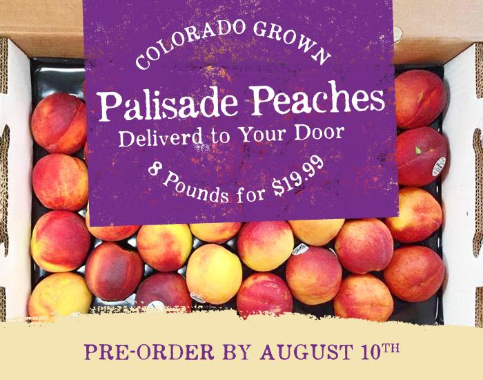 Palisade Peaches - Morning Fresh Dairy