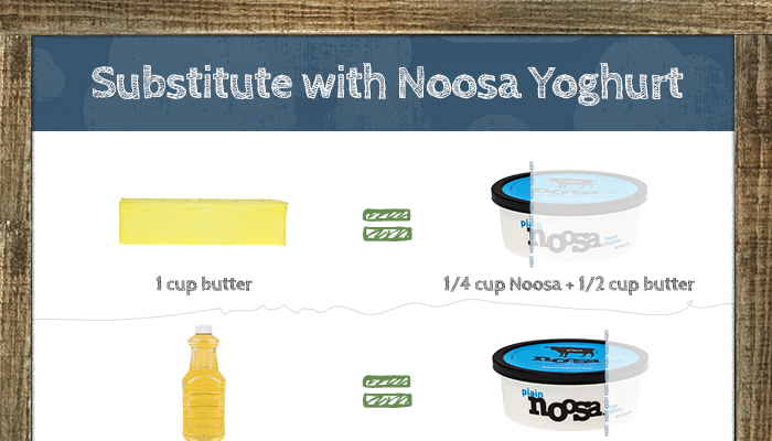 Substitute With Noosa Yoghurt