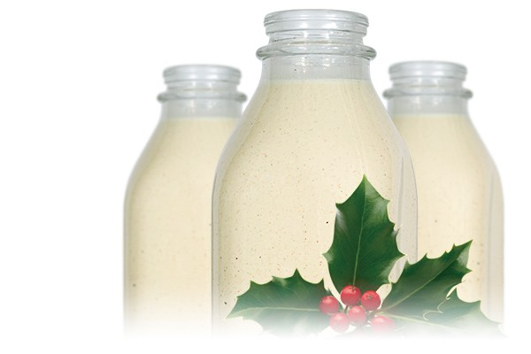 Mmm...Eggnog is Ready!$3.49/quart and $6.98/half gallonOrder online or you can find it at Whole Foods.