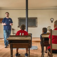 Learn About The Restored 1879 Pleasant Valley Schoolhouse