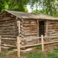 See An Old Log Cabin Found On The Graves Family Property