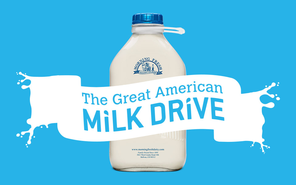 Milk Drive - Morning Fresh Dairy
